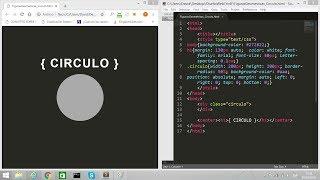 CSS: Hacer CIRCULO   Figuras Geometricas / HTML && CSS