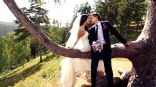 Фиолетовая свадьба. Женя и Оксана. Свадебный клип