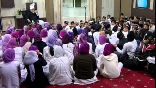 Bustan-e-Waqfe Nau, 14 March 2009, Educational class with Hadhrat Mirza Masroor Ahmad(aba)