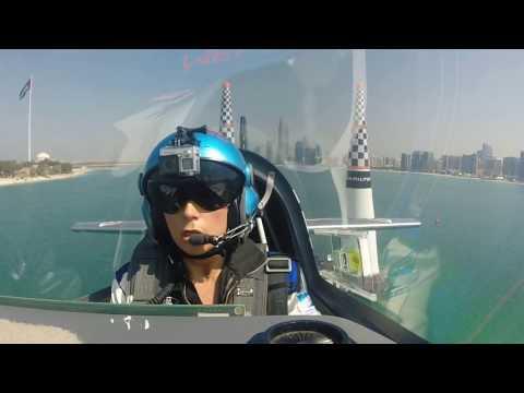 Melanie Astles Red Bull Air Race Training 1 Abu Dhabi 2017