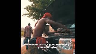Broda Shaggi mechanic