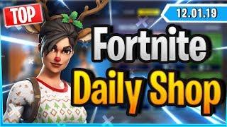 Fortnite Daily Shop *TOP* RED-NOSED RAIDER SKIN (12 Januar 2019)