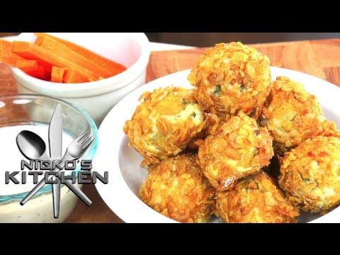 Buffalo Chicken Nuggets - Video Recipe