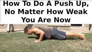Anyone Can Do Push Ups: Here