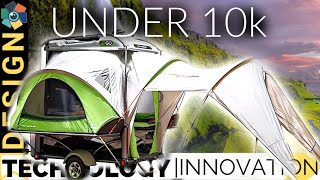 15 Affordable Campers Under 10K | Micro Camping to Caravan RV