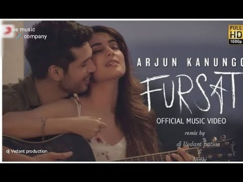 Arjun Kanungo - Fursat | Feat. Sonal Chauhan | Official remix Song| lyrics Video | dj Vedant patwa