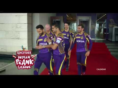 The Kolkata Knight Riders join the Kingfisher Indian Prank League | Surprise Prank