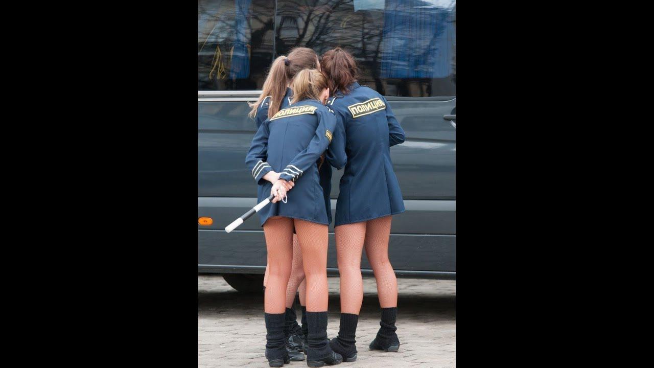 Russian Women Police Find Few 101