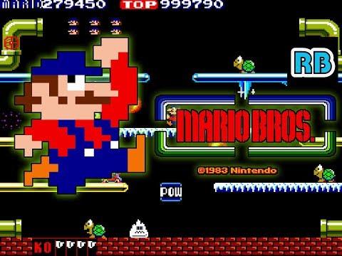 1983 [60fps] Mario Bros. 4279450pts