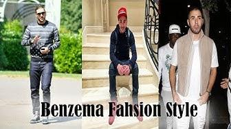 Karim Benzema dressing street style
