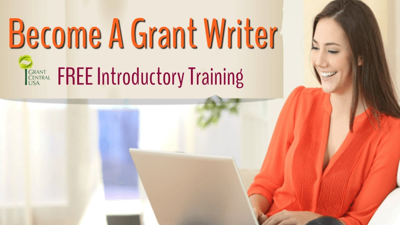 Becoming A Grant Writer Webinar