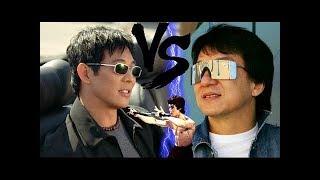 Джеки чан против Джет ли ( кино запретное царство)