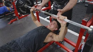 GETTING STRONGER | ALEX WASSABI | CHEST DAY