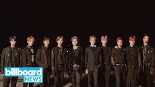 NCT 127 Become Second-Highest Charting K-Pop Boy Band Ever | Billboard News