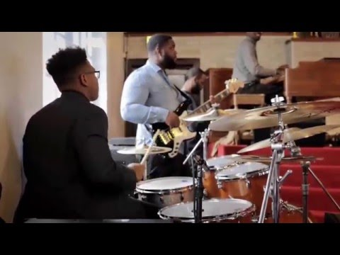 15-year-old Jaylan Crout Playing Drums in Church (Part 2)
