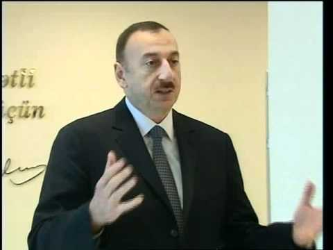 İlham Əliyevin Şəkidə Mərkəzi Xəstəxananın açılışında nitqi. 17.11.2011