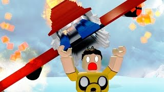 SURVIVING A PLANE CRASH & LIVING ON AN ISLAND / Roblox Episodes / Survive A Crash To VIP Island