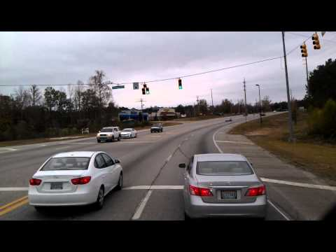 Opelika, Alabama on US Highway 280