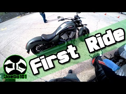 First time on a Cruiser / First impressions /2015 Victory Motorcycles Gunner