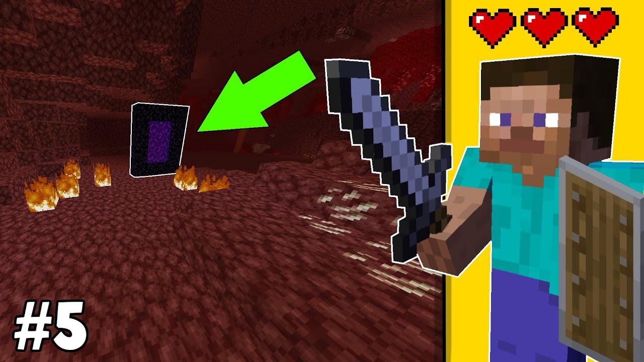 NETHER'E GİTTİK!! 🔥 - Minecraft Survival Bölüm #5