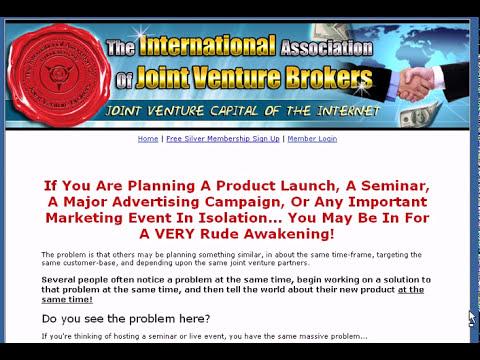 The International Association Of Joint Venture Brokers