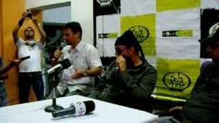 Entrevista Coletiva com o Rapper T-Bone em São Paulo www.bolaradio.com.br