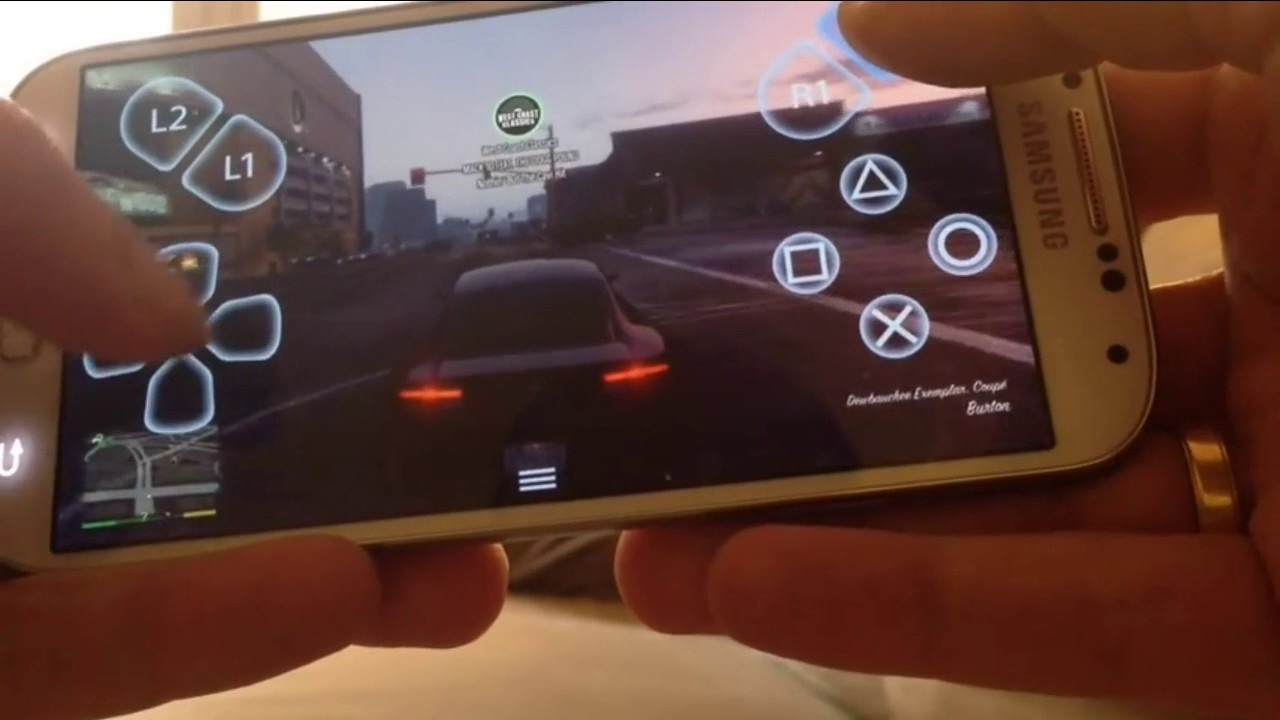 How To Play Gta 5 on Android Using Ps4 Emulator in Android + Download link  2018