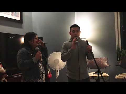 Anton Antenorcruz duets with his mom to sing Bakit Ngayon Ka Lang on New Year's Eve