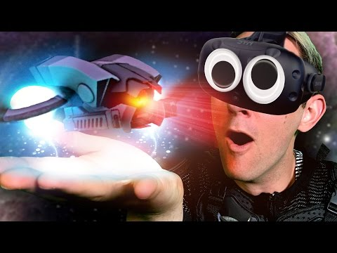 MINI SPACE FIGHT CHALLENGE! - Mixed Reality