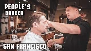 peoples barber san francisco california textured modern haircut