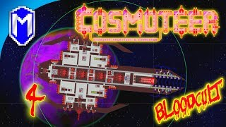 Cosmoteer - Eye Of Doom, Superweapon - Let's Play Cosmoteer BloodCult Mod Primal Age Gameplay Ep 4
