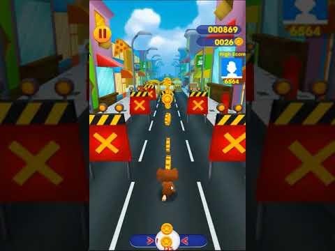 Tom Rush: Run, Dash & Surf, Free Tom & Jerry Subway Game 3D for Kids