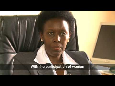 Women rank high in Rwandas government