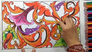 600 Gambar Batik Flora Fauna Mudah Hd Terbaru Infobaru