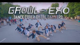 [KPOP IN PUBLIC / THE DAZZLERS's BIRTHDAY PROJECT] EXO 엑소 '으르렁 (Growl)' MAMA.VER Dance Cover