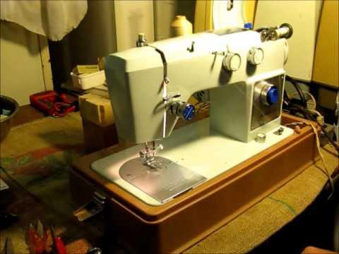 Montgomery Wards Signature 40C YouTube Fascinating Signature Sewing Machine