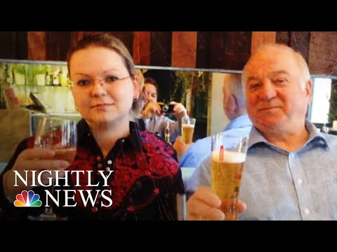 President Trump Admin Sanctions Russia For Poisoning Of Ex-Spy And His Daughter | NBC Nightly News