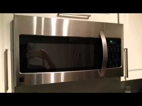 Kenmore Microwave from Sears caught fire!