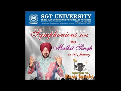 MALKIT SINGH AT SGT UNIVERSITY @ 2016