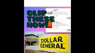 FREE Clip These Digital Coupons Right Now Dollar General