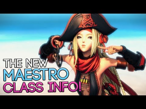 The New Blade and Soul Maestro Class Information and Trailer!