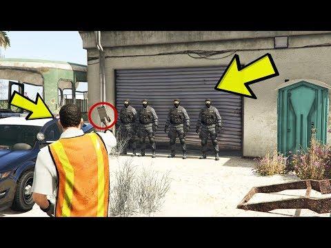 GTA 5 - POLISLER BURADA NE SAKLIYOR?
