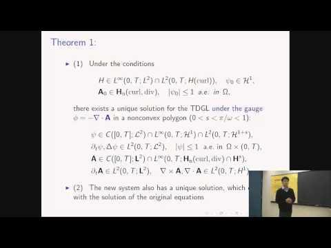 Mathematical and numerical analysis of time-dependent Ginzburg-Landau superconductivity equations