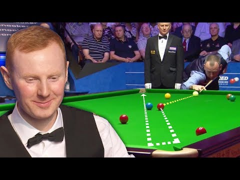 TOP 33 LUCKY SHOTS | World Snooker Championship 2018