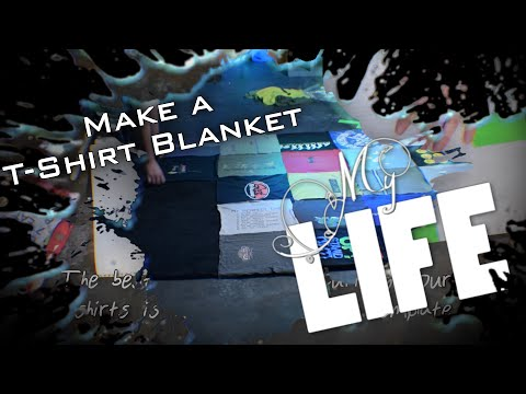 Make T Shirt Blankets How To Make