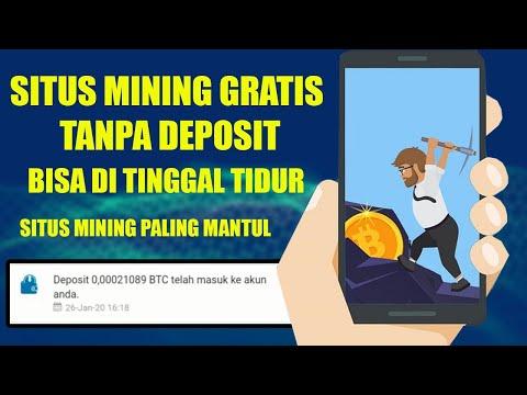 MINING GRATIS TANPA DEPOSIT !! BISA DI TINGGAL TIDUR 2020