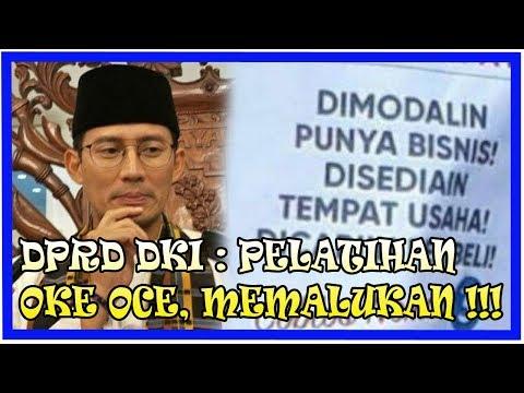 Pelatihan OK OCE, DPRD DKI : Memalukan Hanya Cuap-cuap, Rekrut Peserta Asal-asalan