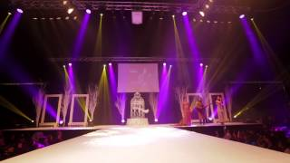 Kyles Collection on the Asian Wedding Exhibition Catwalk 2014