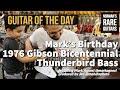 1976 Gibson Bicentennial Thunderbird Bass | Norman's Rare Guitars