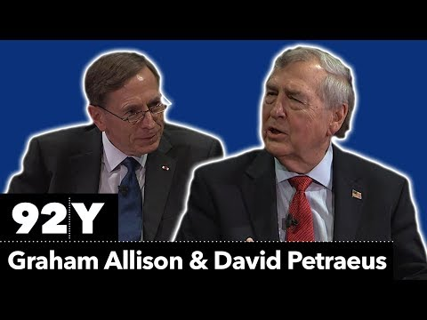 Destined for war with China? Graham Allison and Gen. David Petraeus Ret